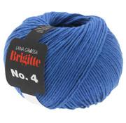 Lana Grossa Brigitte NO.4 014 Kleur: Blauw