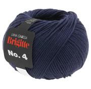 Lana Grossa Brigitte NO.4 015 Kleur: Nacht Blauw
