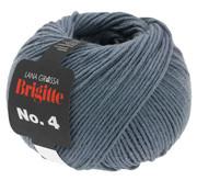 Lana Grossa Brigitte NO.4 016 Kleur: Staal Blauw