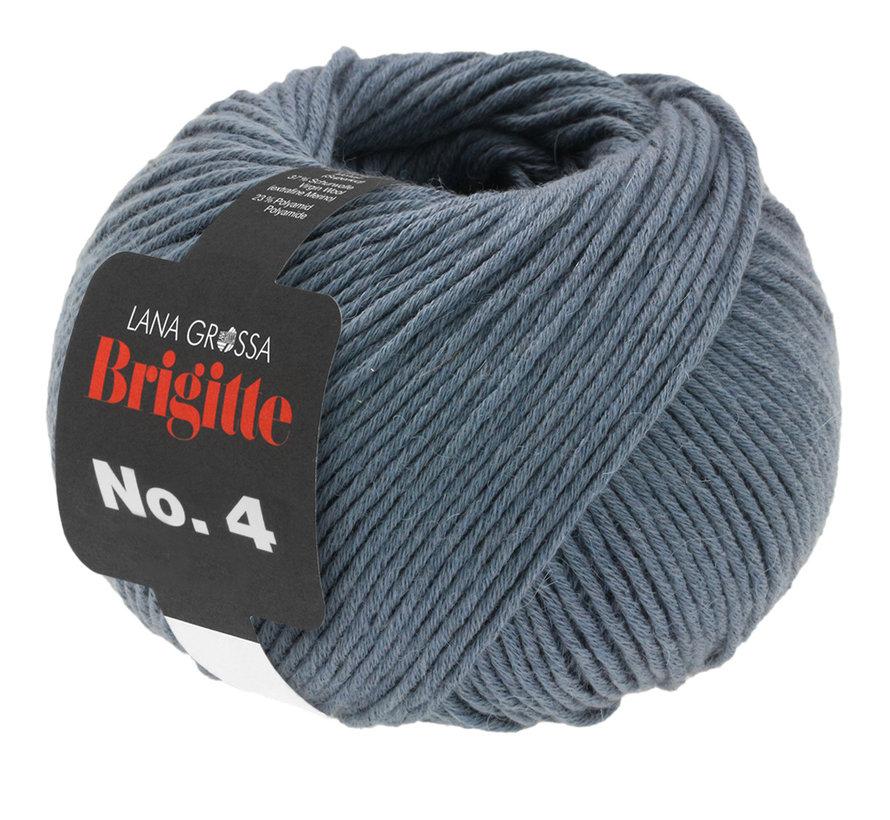 Brigitte NO.4 016 Kleur: Staal Blauw
