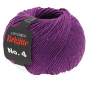 Lana Grossa Brigitte NO.4 024 Kleur: Rood Violet