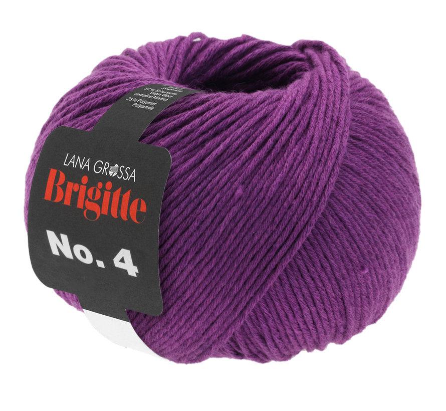 Brigitte NO.4 024 Kleur: Rood Violet