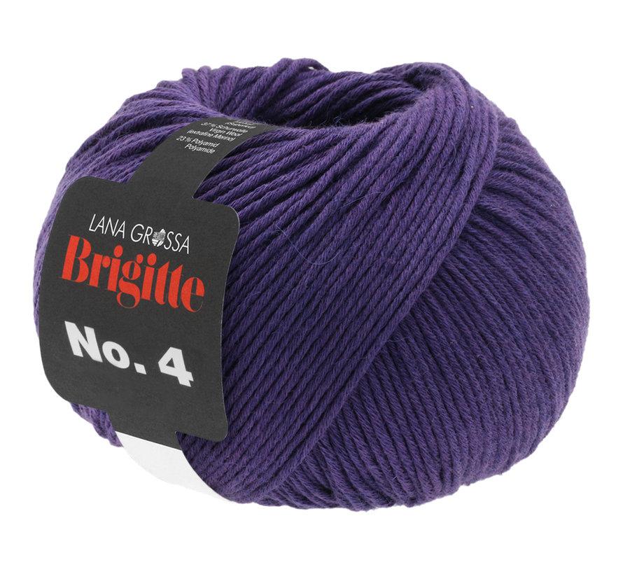 Brigitte NO.4 025 Kleur: Donker Paars
