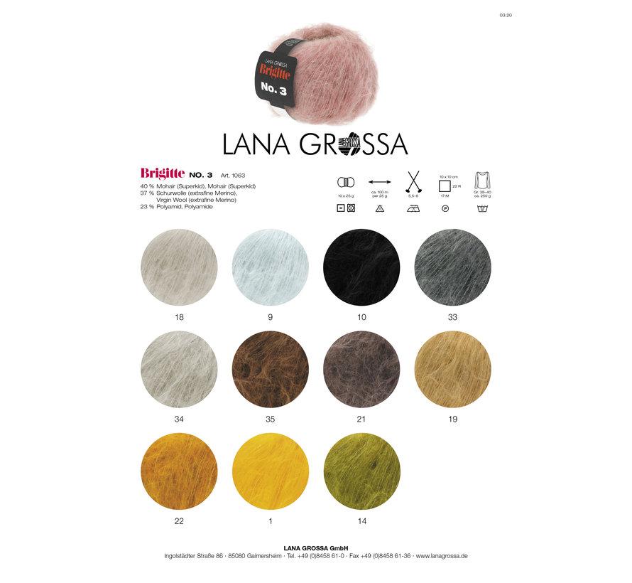 Brigitte NO.3 017 Kleur: Grijs Groen