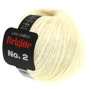 Lana Grossa Brigitte NO.2 016 Kleur: Ruw Wit