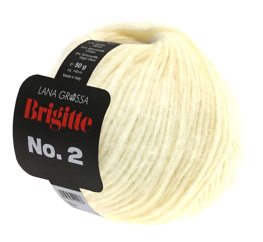 Brigitte NO.2 016 Kleur: Ruw Wit