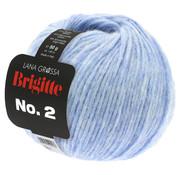 Lana Grossa Brigitte NO.2 023 Kleur: Licht Blauw