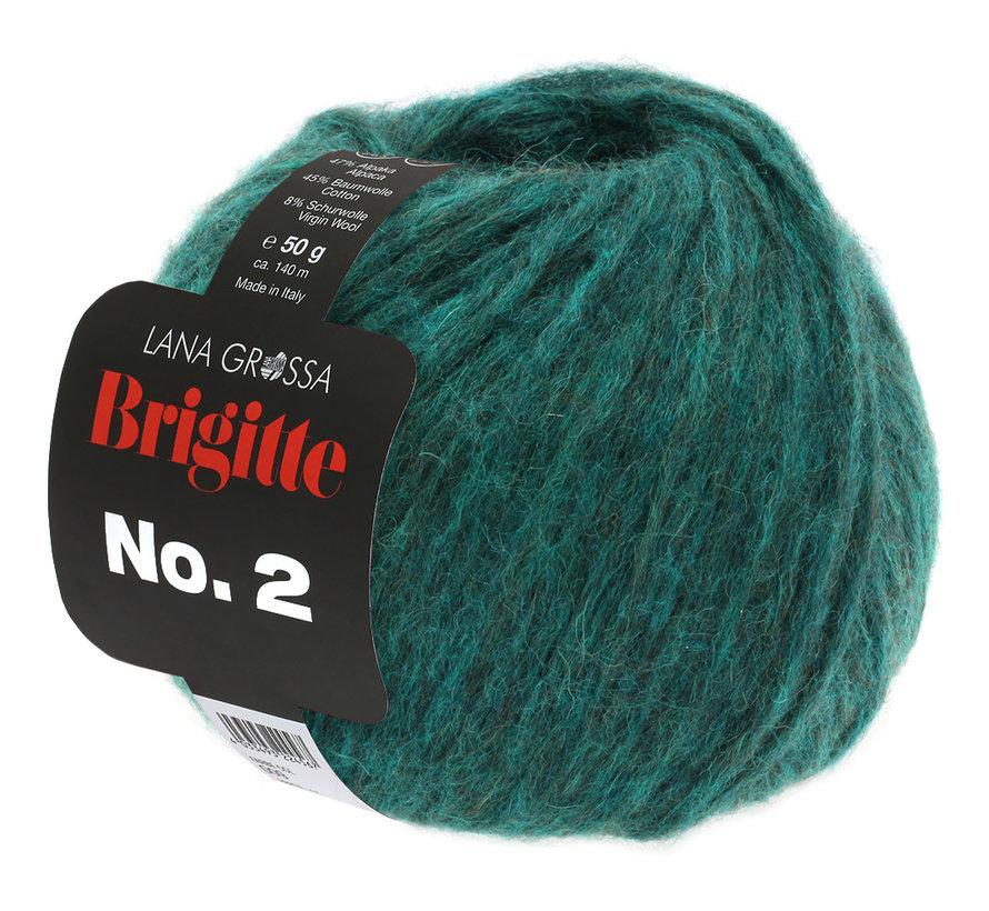 Brigitte NO.2 028 Kleur: Donker Groen