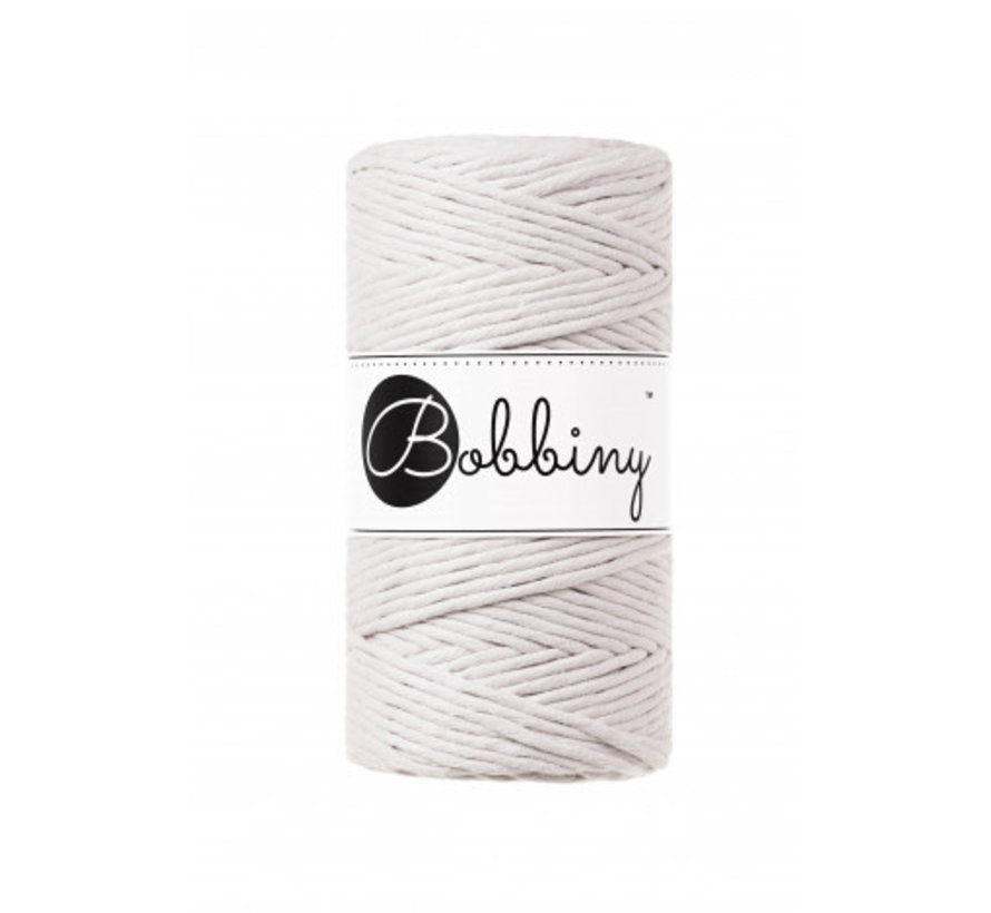 Bobbiny Macramé cord 3mm Moonlight