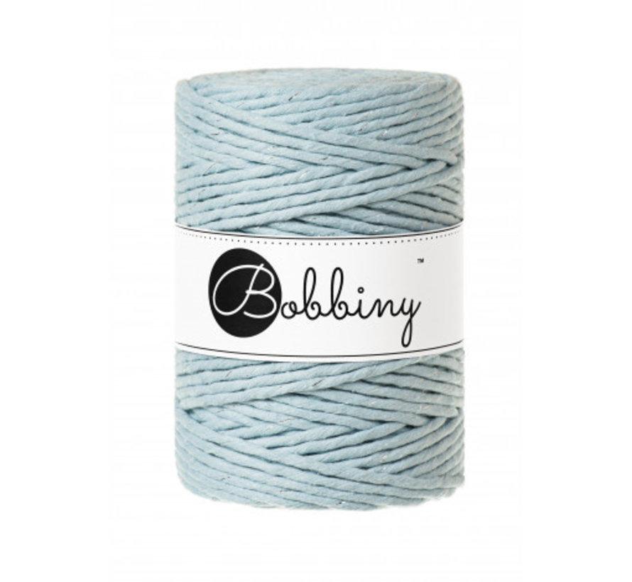 Bobbiny Macrame cord 5mm Silvery Misty