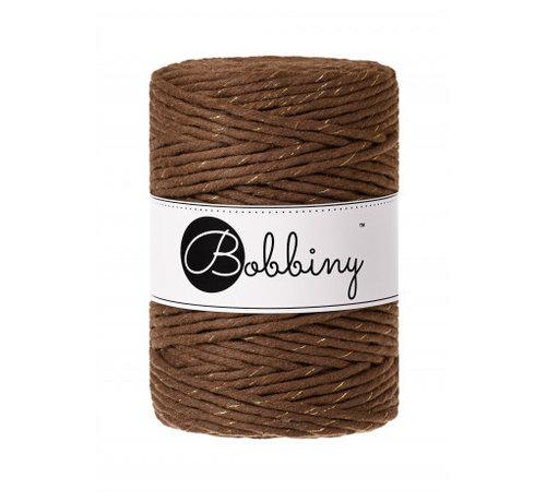 Bobbiny Bobbiny Macrame cord 5mm Golden Mocha