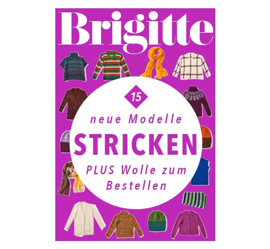 Brigitte nr.15 Patronen boek Lana Grossa