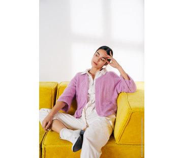 Lana Grossa Breipakket - Vest Per fortuna Lana Grossa met Download patroon Journal-61-m20