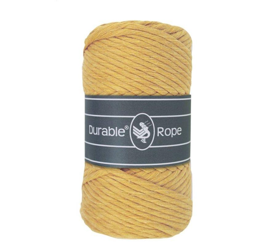 Durable Macrame Rope 5mm 411 Kleur: Mimosa