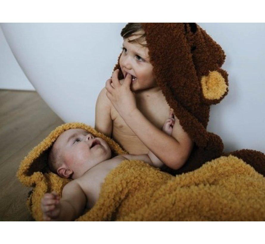 Haakpatroon Baby- en Kleutercape Teddy Download