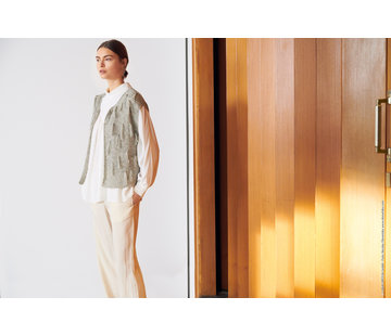 Lana Grossa Breipakket - Vest - Allora Lana Grossa met Download patroon Journal-61-m23