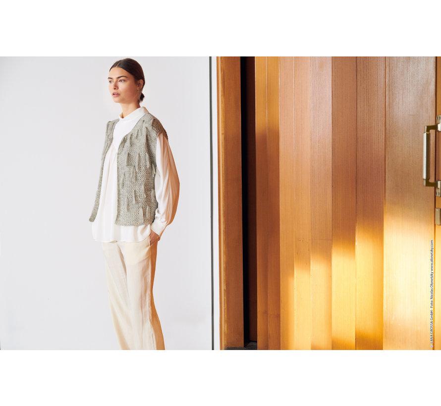 Breipakket - Vest - Allora Lana Grossa met Download patroon Journal-61-m23