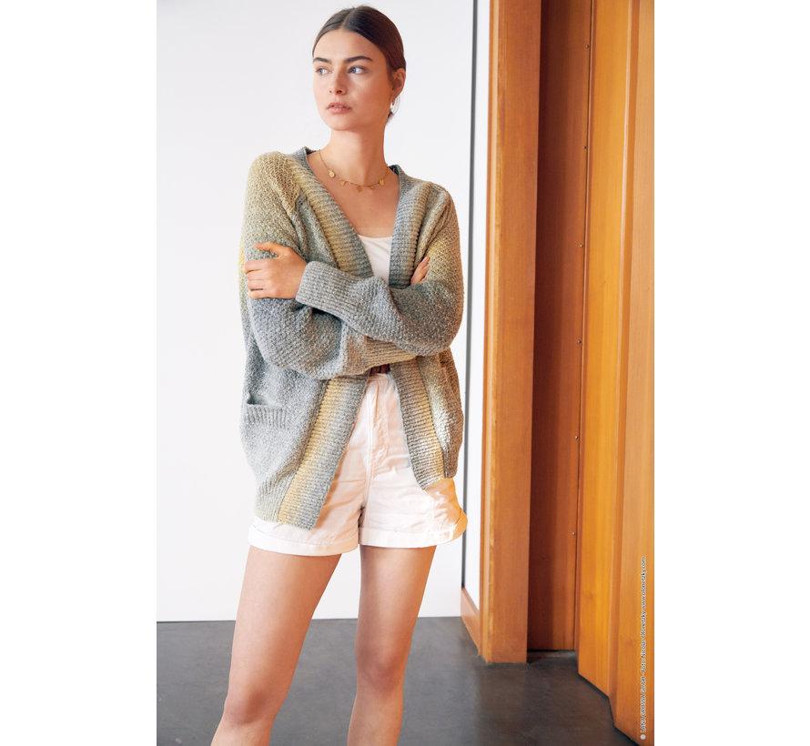 Breipakket - Vest - Amoroso Lana Grossa met Download patroon Journal-61-m22