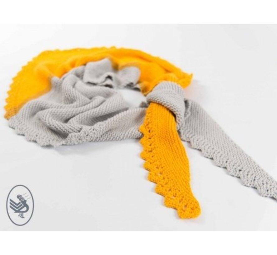 Breipatroon Chandelier sjaal Download