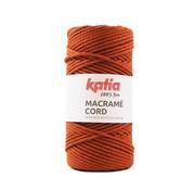 Katia Katia Macrame Cord Twisted 5mm 110 Kleur: Dakpan