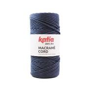 Katia Katia Macrame Cord Twisted 5mm 106 Kleur: Jeans
