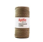 Katia Katia Macrame Cord Twisted 5mm 105 Kleur: Nerts