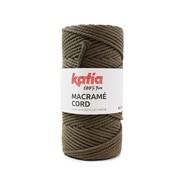 Katia Katia Macrame Cord Twisted 5mm 104 Kleur: Donkere nerts