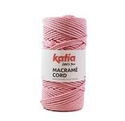 Katia Katia Macrame Cord Twisted 5mm 101 Kleur: Roos