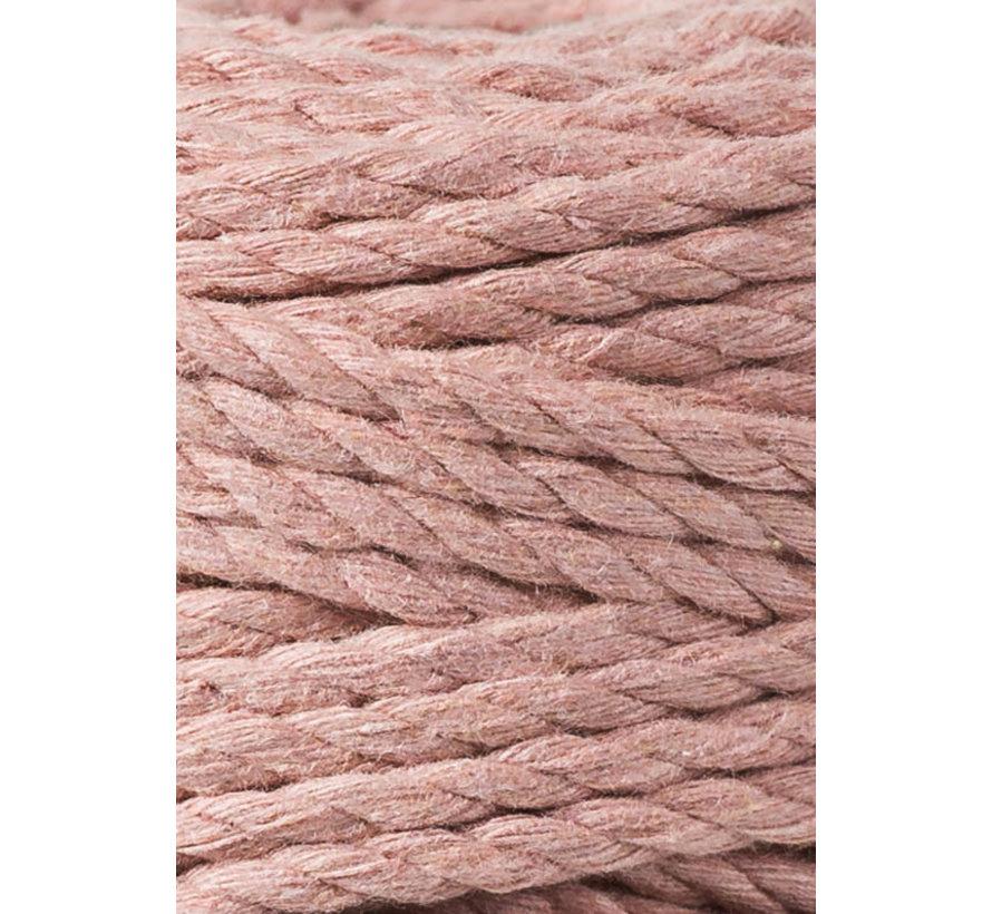 Bobbiny Macramé Triple Twist 5mm Blush
