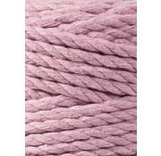 Bobbiny Bobbiny Macramé Triple Twist 5mm Dusty Pink