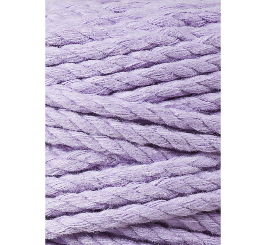 Bobbiny Macramé Triple Twist 5mm Lavender