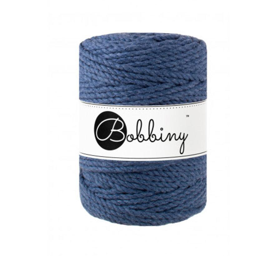 Bobbiny Macramé Triple Twist 5mm Jeans
