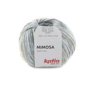 Katia Katia Mimosa 302 Kleur: Blauw-Licht geel