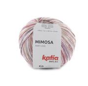 Katia Katia Mimosa 301 Kleur: Bleekrood-Lila