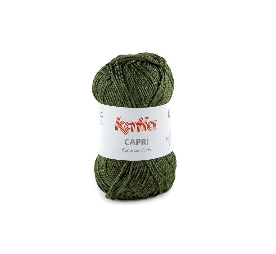 Katia Capri 82175 Kleur: Olijfgroen