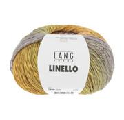 Lang Yarns Linello 050 Kleur: Geel-Groen-Paars