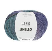 Lang Yarns Linello 053 Kleur: Geel-Oranje-Blauw-Paars