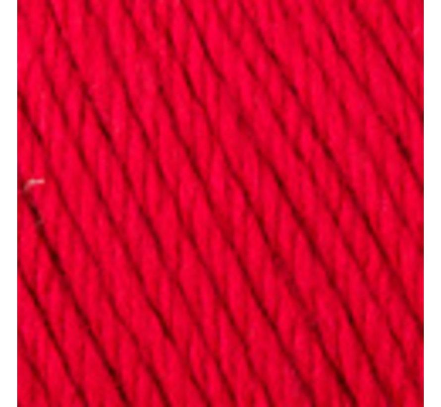 Basic Merino nr.4 Kleur: Rood
