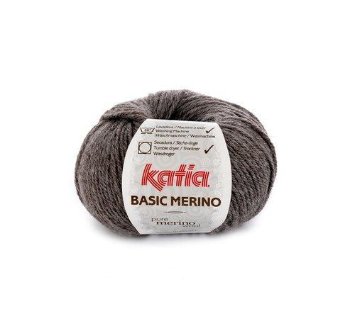 Katia Basic Merino nr.8 Kleur:  Donker Grijs