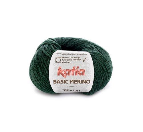 Katia Basic Merino nr.15 Kleur: Zeer Donker Groen