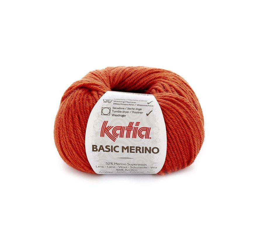 Basic Merino nr.20 Kleur: Oranje