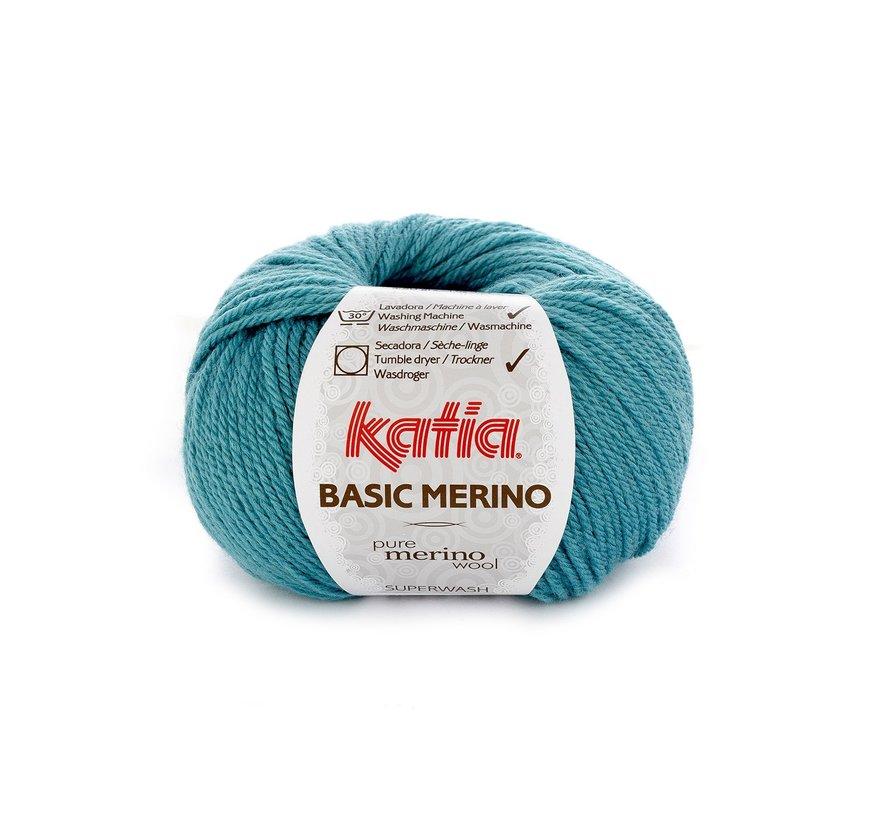 Basic Merino nr.30 Kleur: Turquoise