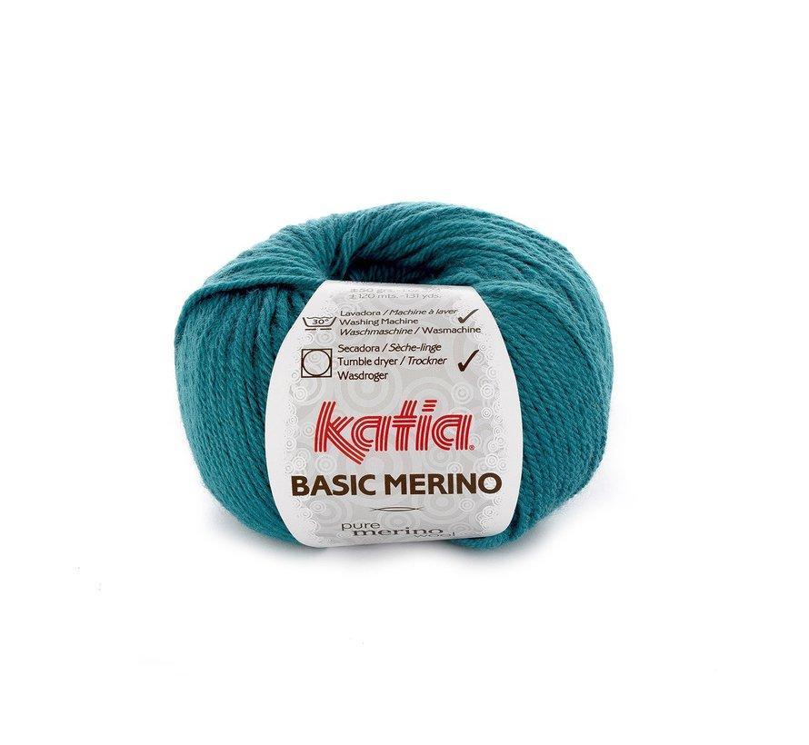 Basic Merino nr.39 Kleur: Petrol