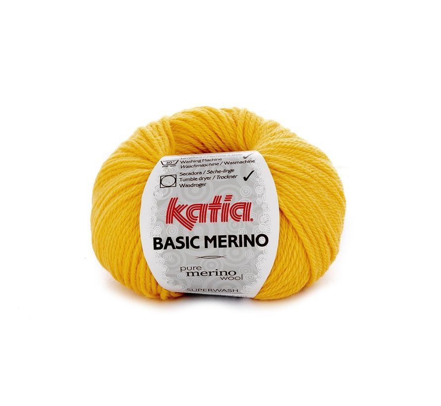 Basic Merino nr.64 Kleur: Geel