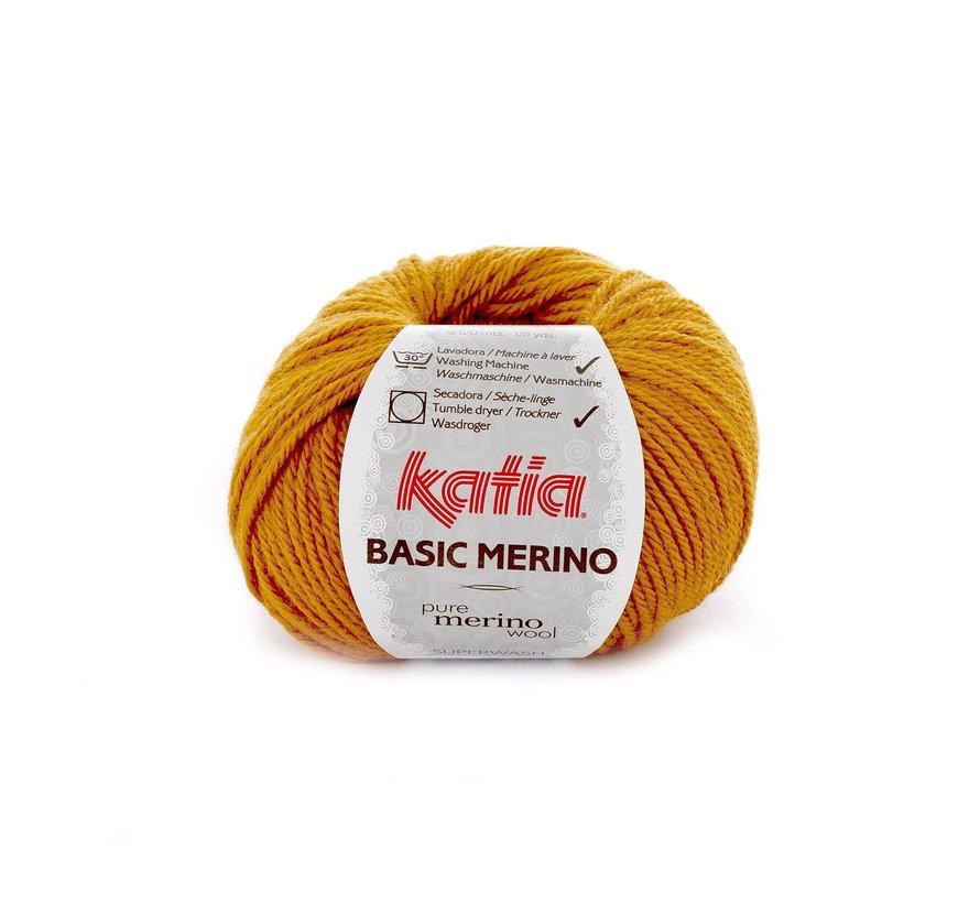 Basic Merino nr.71 Kleur: Oker