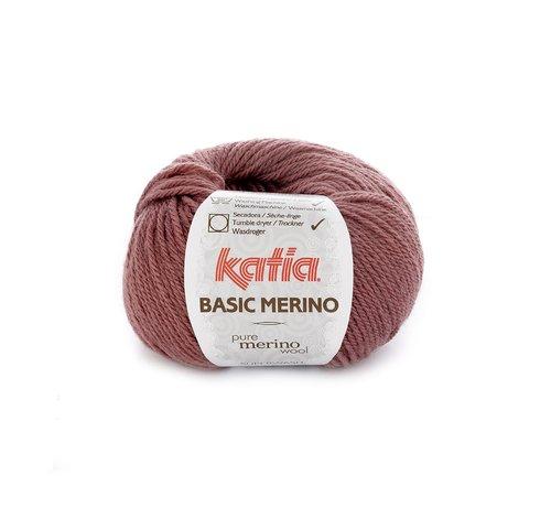 Katia Basic Merino nr.74 Kleur: Donker Roze