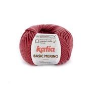 Katia Basic Merino nr.75 Kleur: Framboosrood