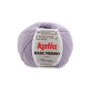 Katia Basic Merino nr.77 Kleur: Licht Lila