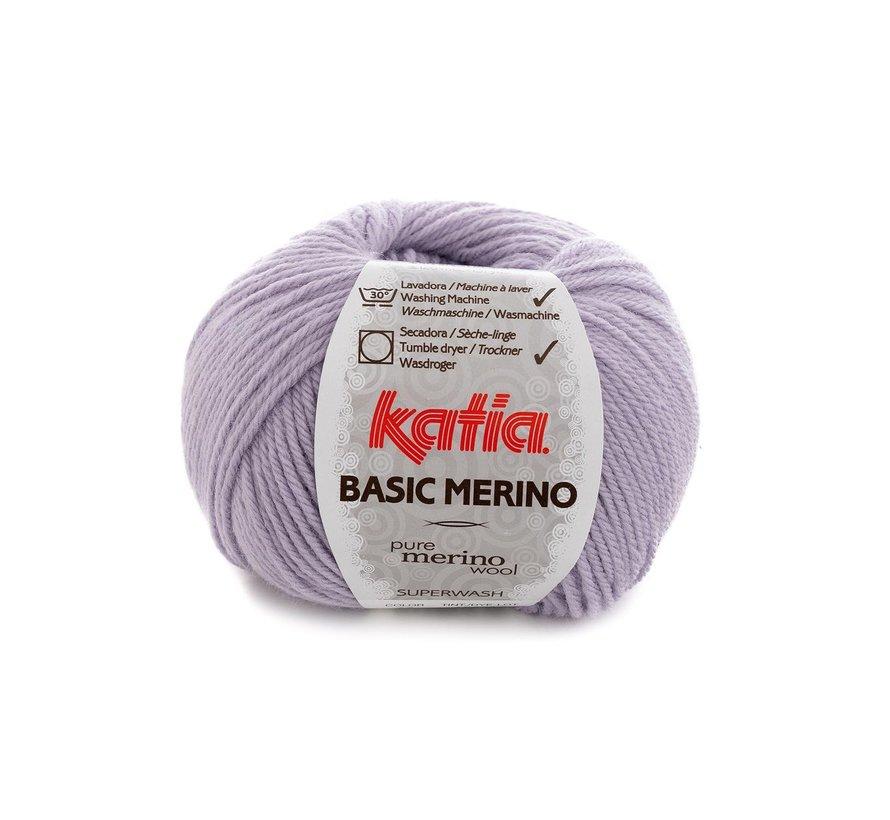 Basic Merino nr.77 Kleur: Licht Lila