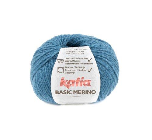Katia Basic Merino nr.81 Kleur: Groenblauw